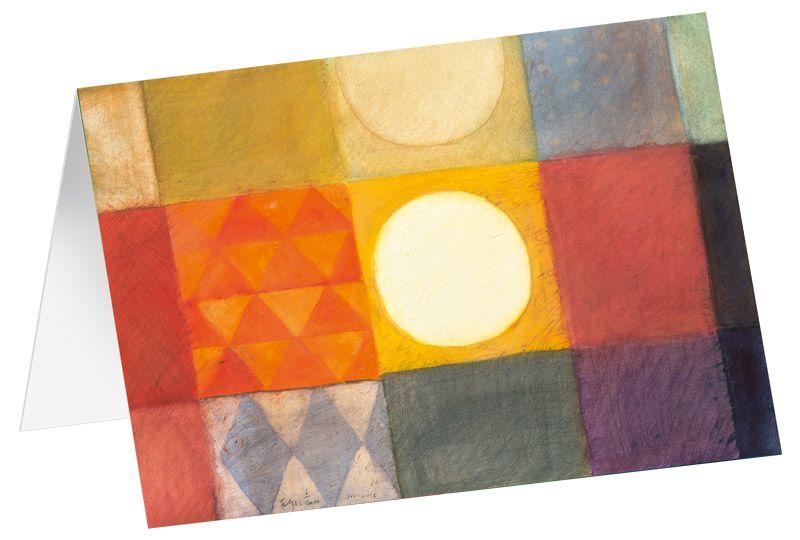 """Kunstkarten """"Licht im Spiegel"""" - 5 Stk"""
