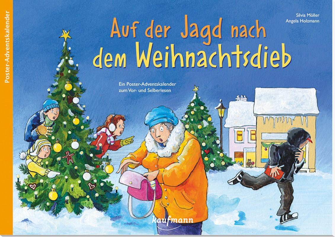 Auf der Jagd nach dem Weihnachtsdieb - Adventskalender