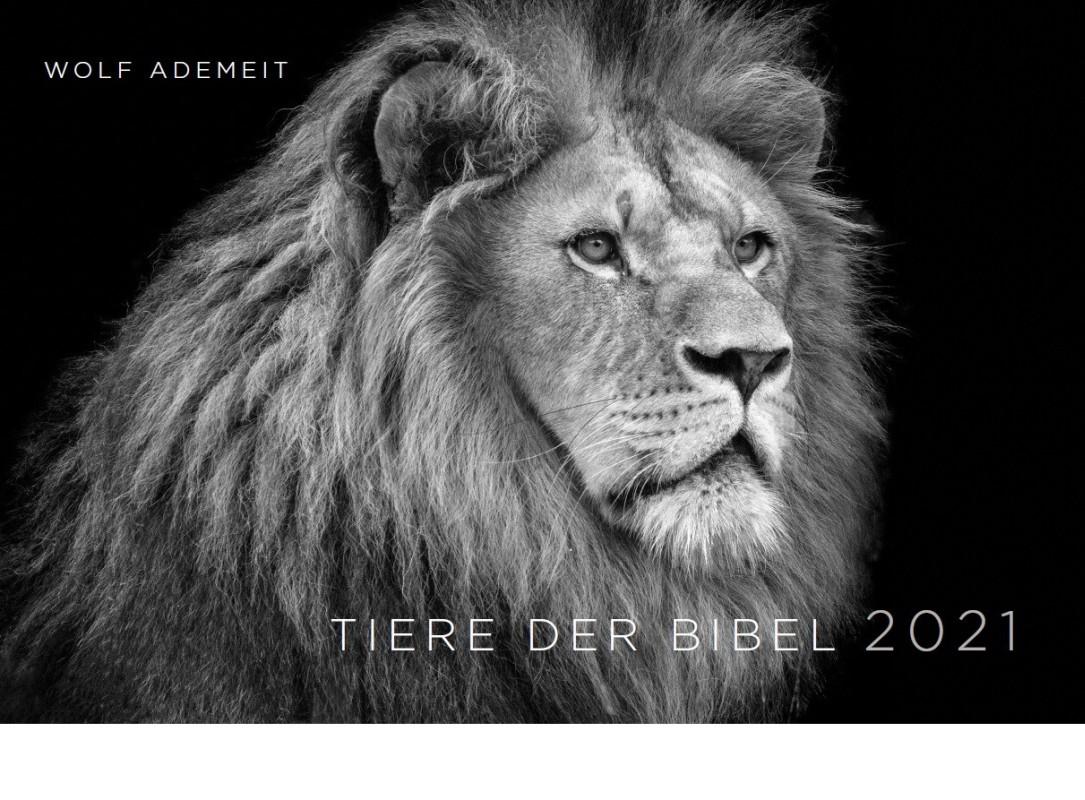 Tiere der Bibel 2021 - Wandkalender