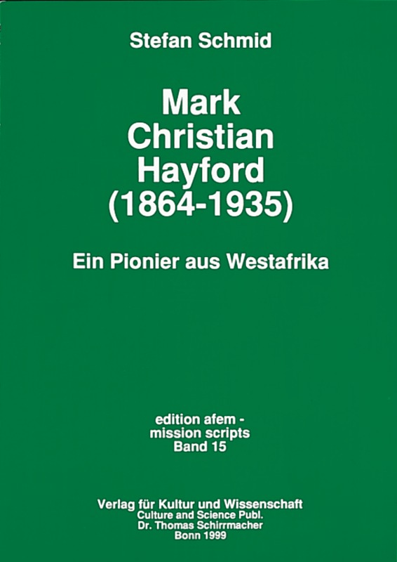 Mark Christian Hayford (1864-1935)
