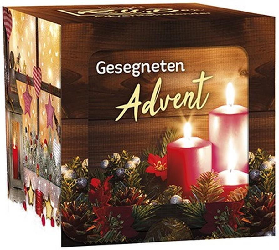"Adventskalender Roll-Box ""Gesegneten Advent"""
