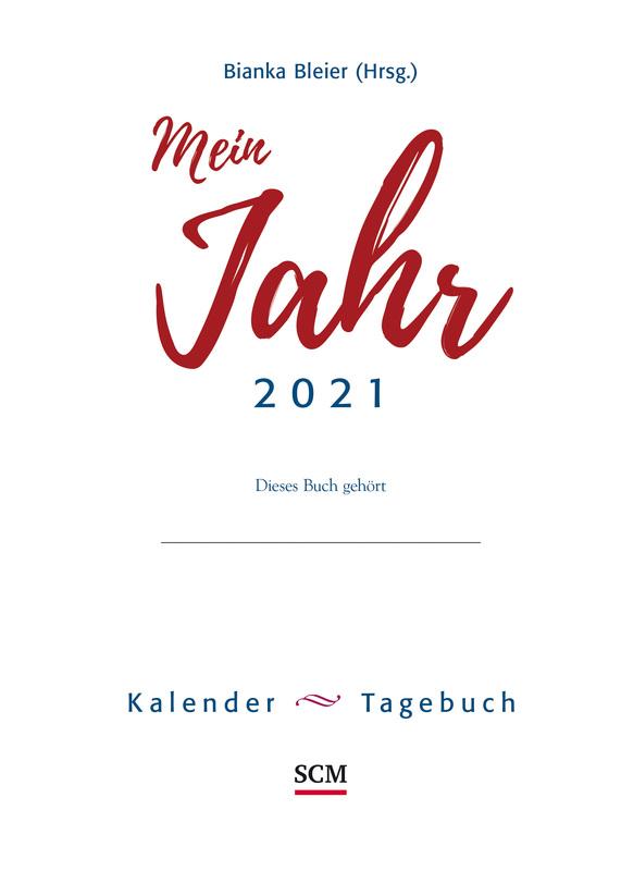Mein Jahr 2021 - Loseblatt