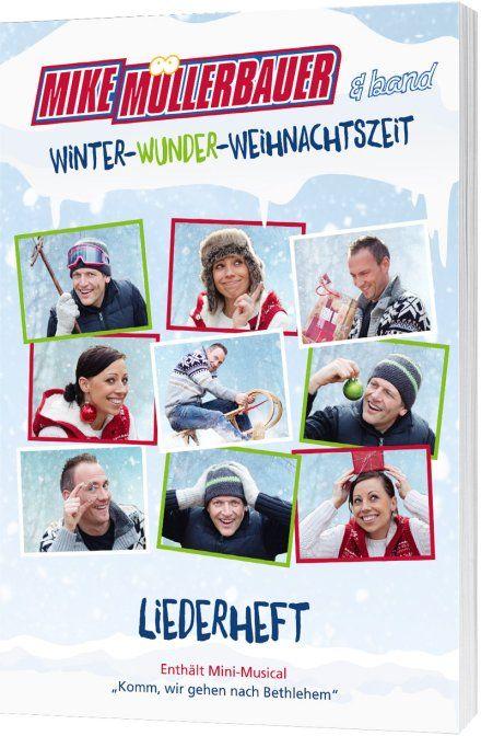 Winter-Wunder-Weihnachtszeit - Liederheft