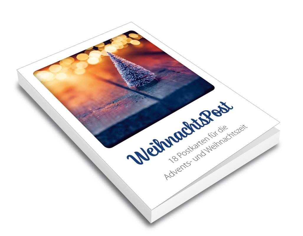 WeihnachtsPost - Postkartenbuch