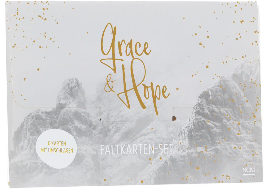 "Faltkarten-Set ""Grace & Hope"""
