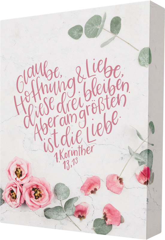 Glaube, Hoffnung, Liebe - Wand- und Standbild