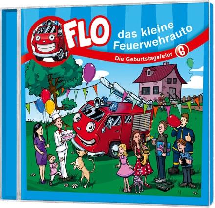 Flo - das kleine Feuerwehrauto: Die Geburtstagsfeier (6)