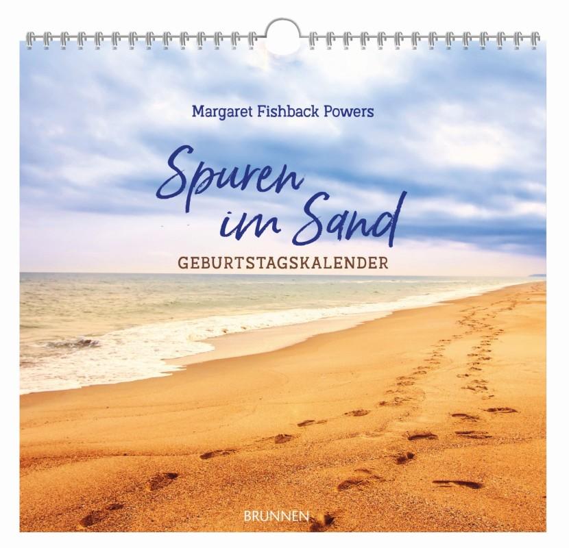 Spuren im Sand - immerwährender Geburtstagskalender