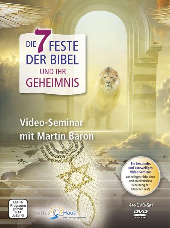 Die 7 Feste der Bibel und ihr Geheimnis - DVD Set