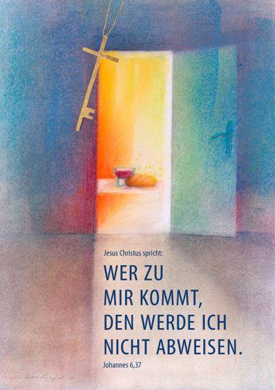 Jahreslosung 2022 - Kunstdruck A4