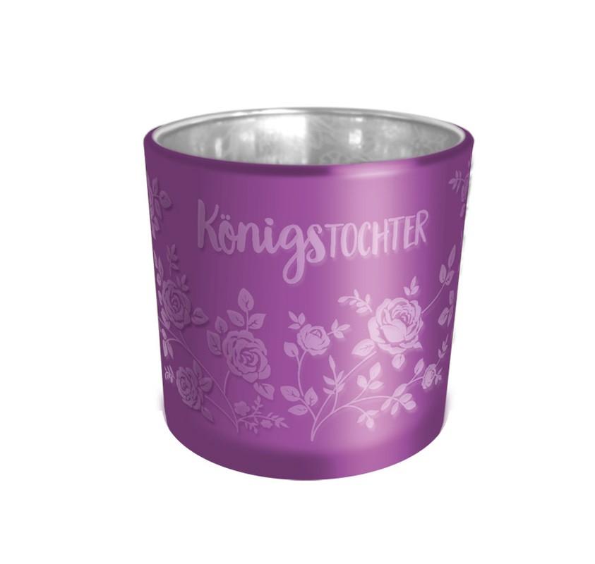 """Teelichthalter """"KönigsTochter"""""""