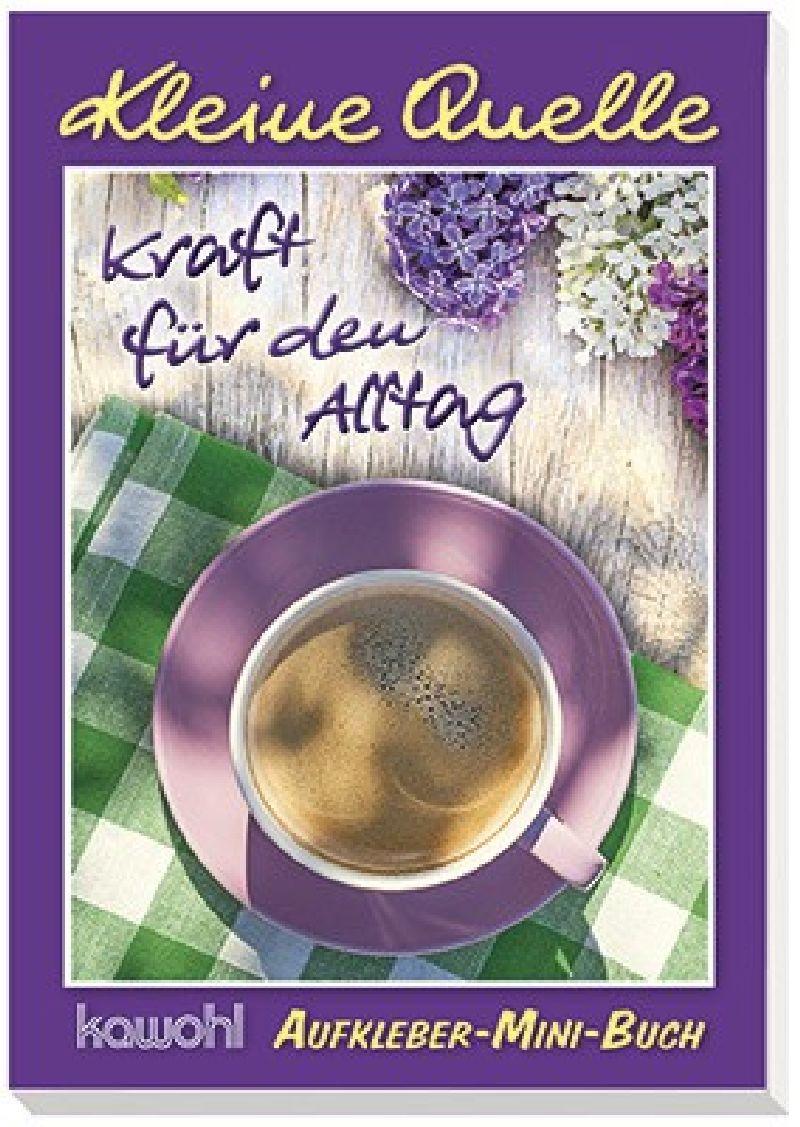 """Aufkleber-Mini-Buch """"Kraft für den Alltag"""""""