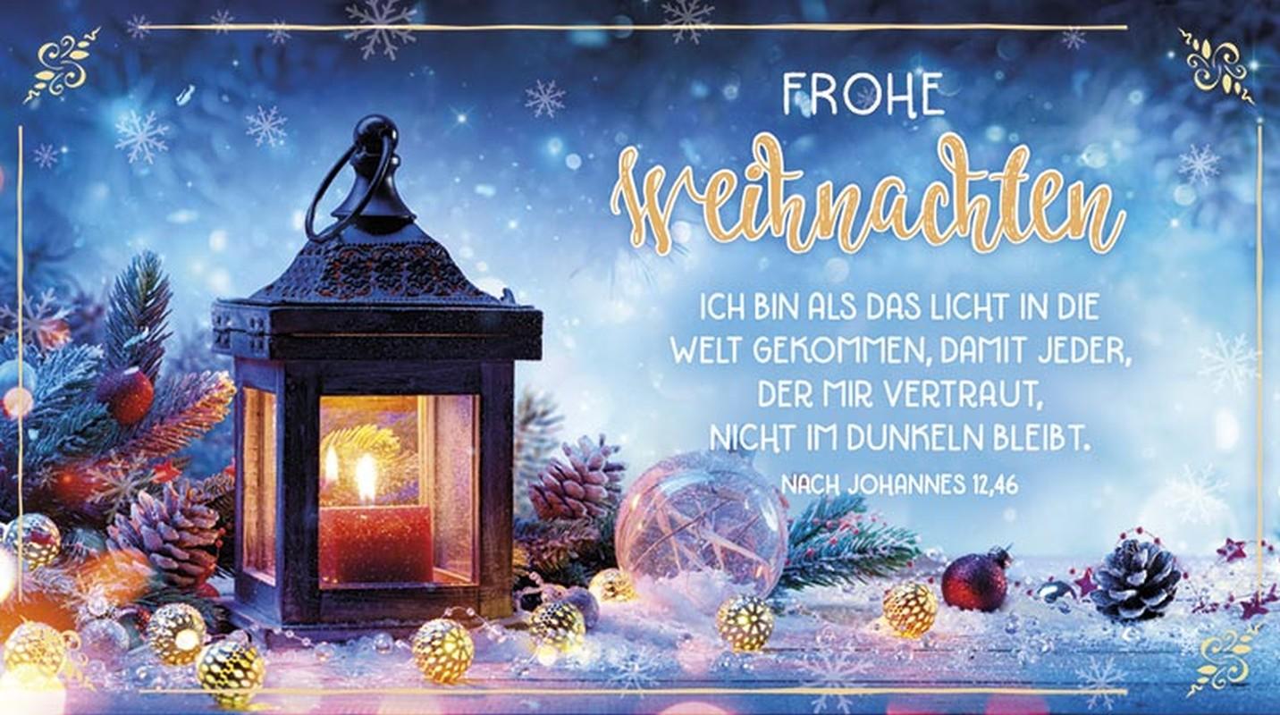 """Schokoladengrüße """"Frohe Weihnachten"""" (40g)"""