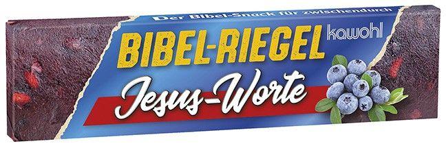 Bibel-Riegel: Jesus-Worte