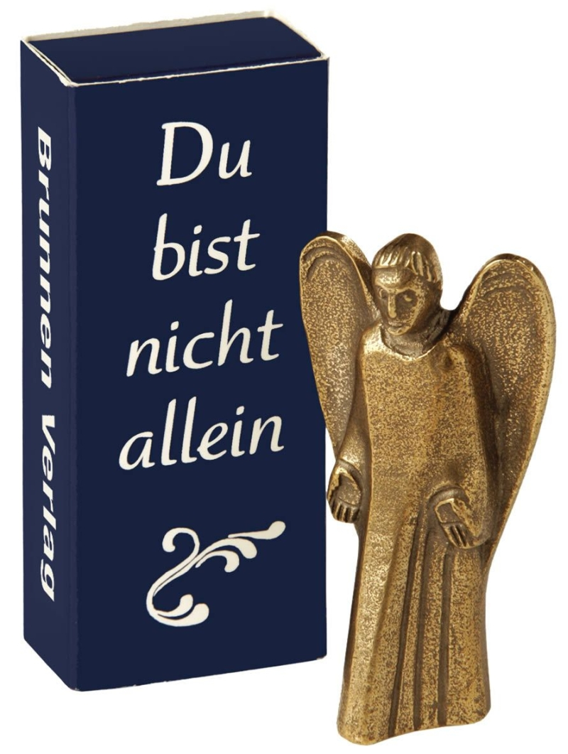 """Bronze-Engel """"Du bist nicht allein"""""""