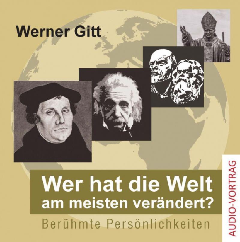 Wer hat die Welt am meisten verändert? - Audio CD