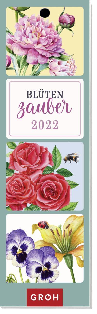 Blütenzauber 2022 - Lesezeichenkalender