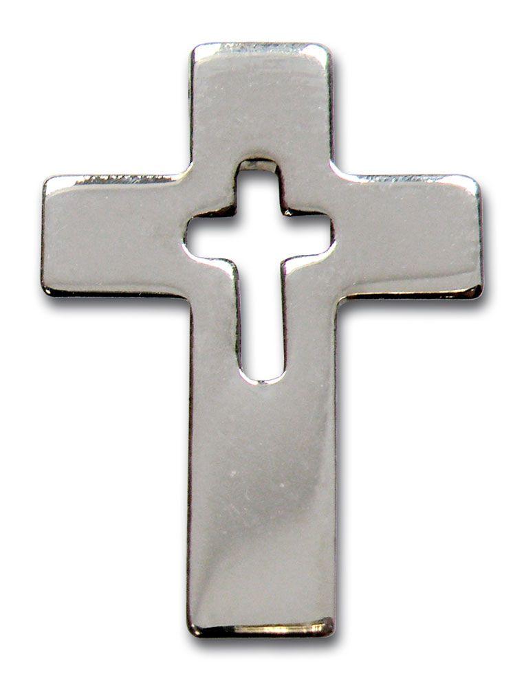 "Anstecknadel ""Kreuz"""