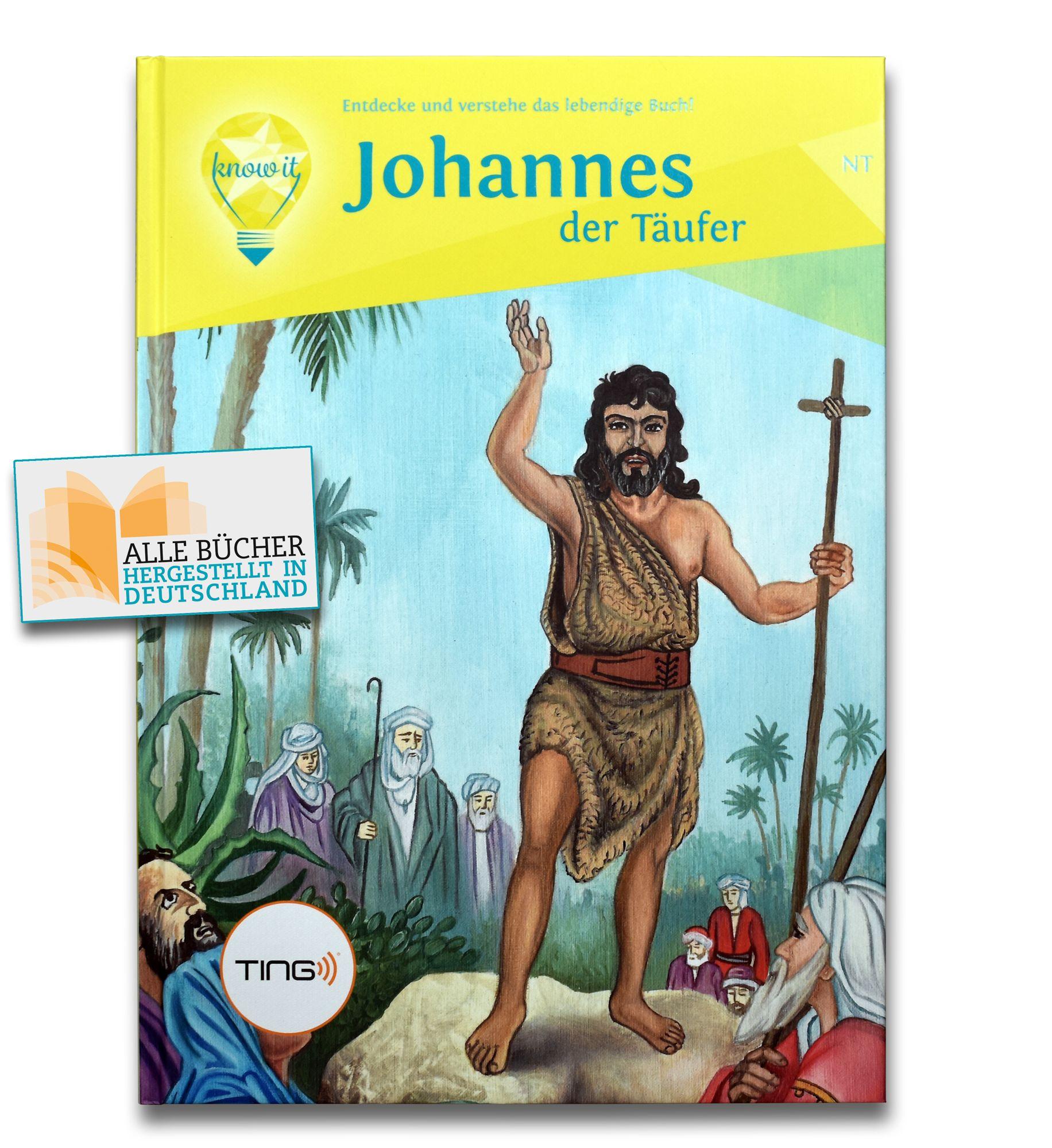TING Audio-Buch - Johannes der Täufer NT