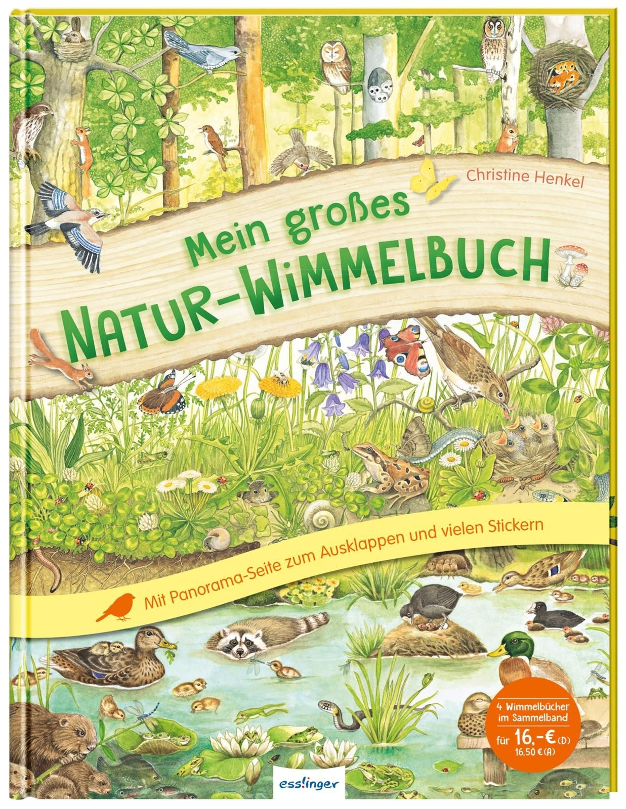 Mein großes Natur-Wimmelbuch