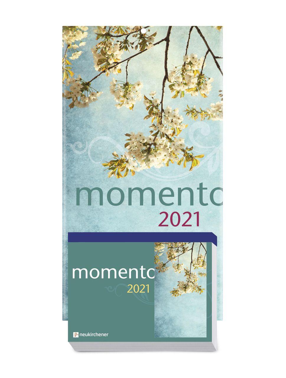 Momento 2021 - Abreißkalender