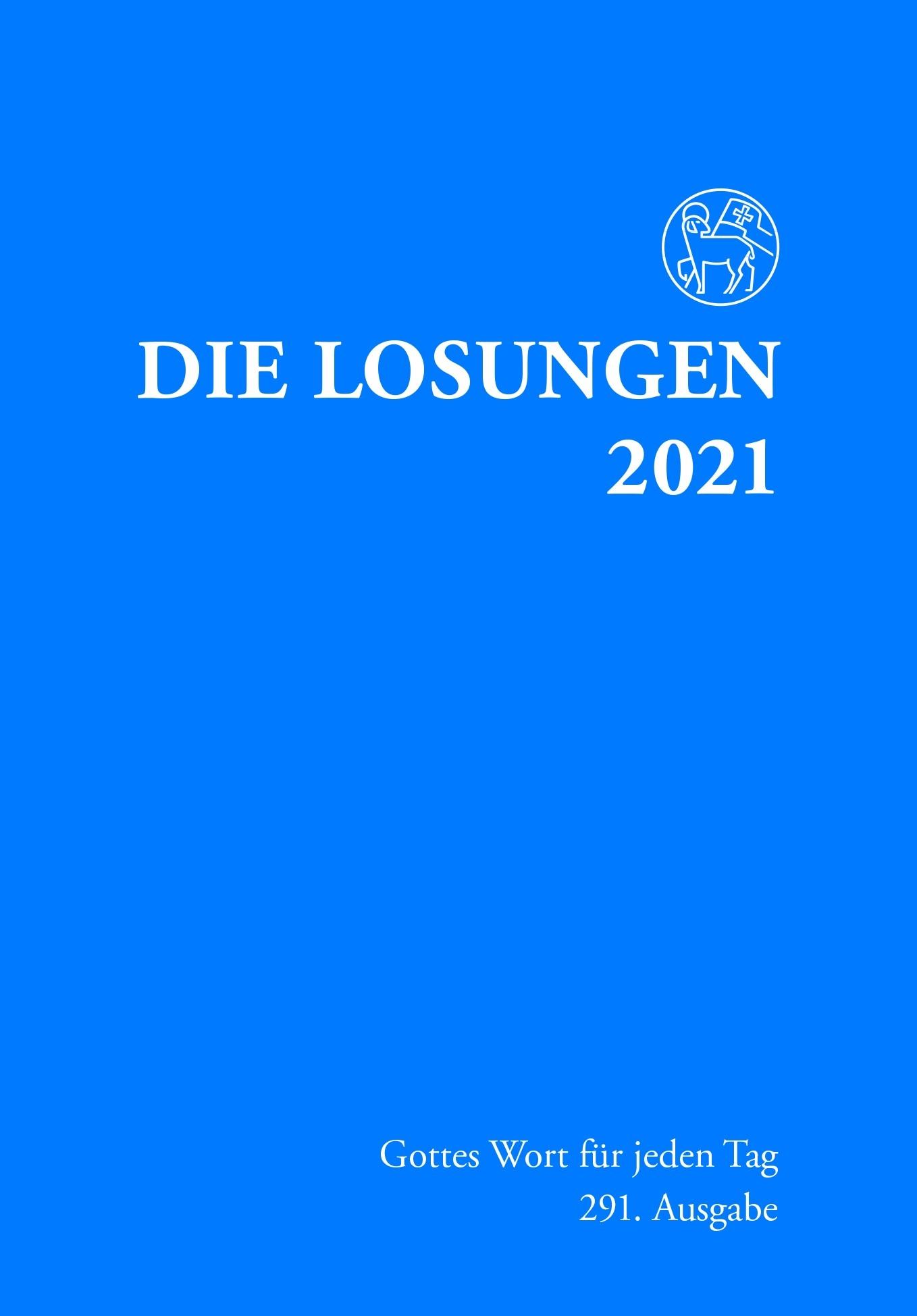 Losungen 2021 dunkelblau, Normalausgabe
