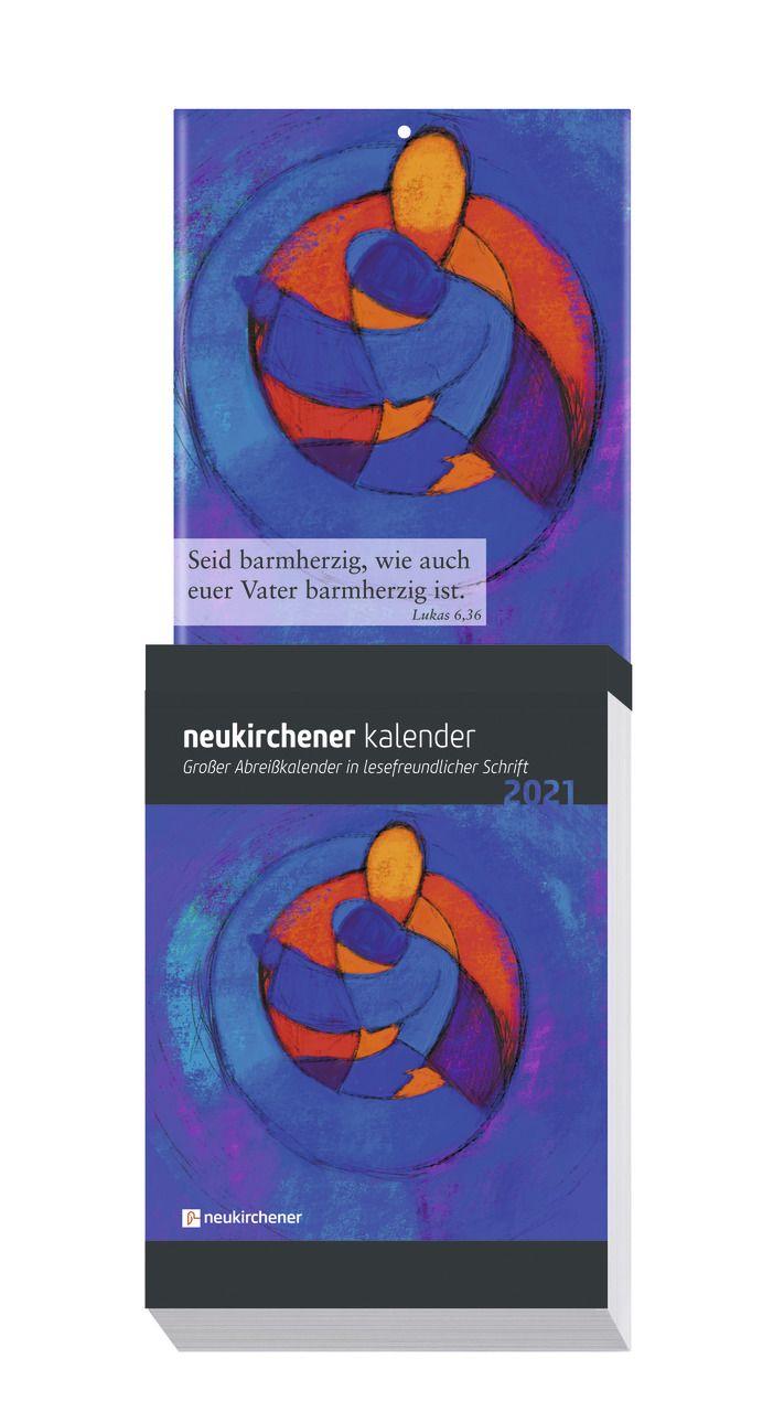 Neukirchener Abreißkalender 2021 - Großdruck