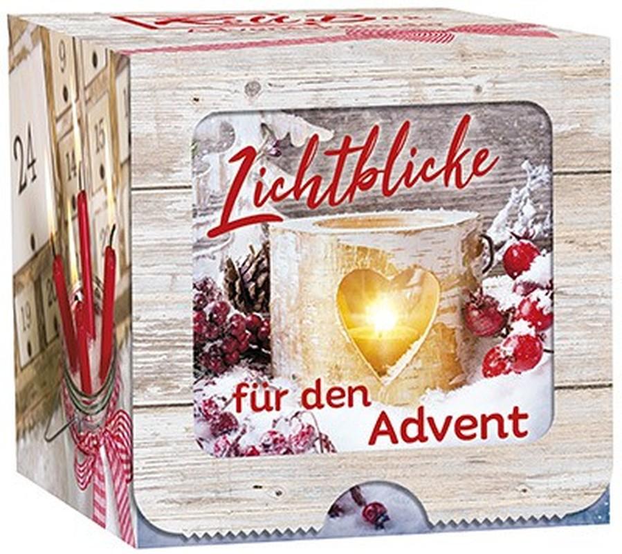 """Adventskalender Roll-Box """"Lichtblicke für den Advent"""""""