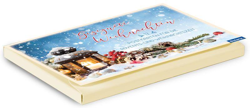 """Postkartenbox """"Weihnachten"""""""
