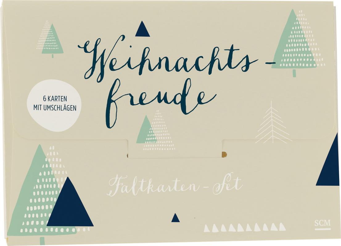 "Faltkarten-Set ""Weihnachtsfreude"""