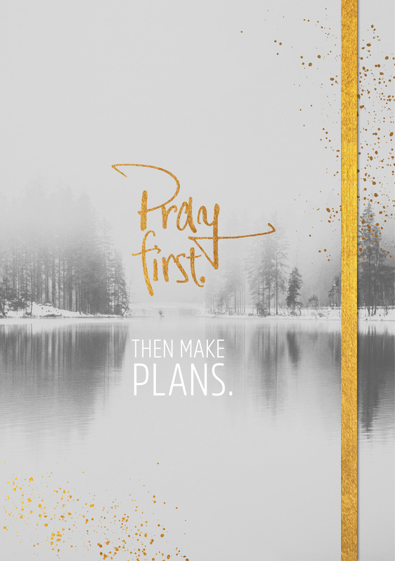Notizbuch Grace & Hope - Pray first