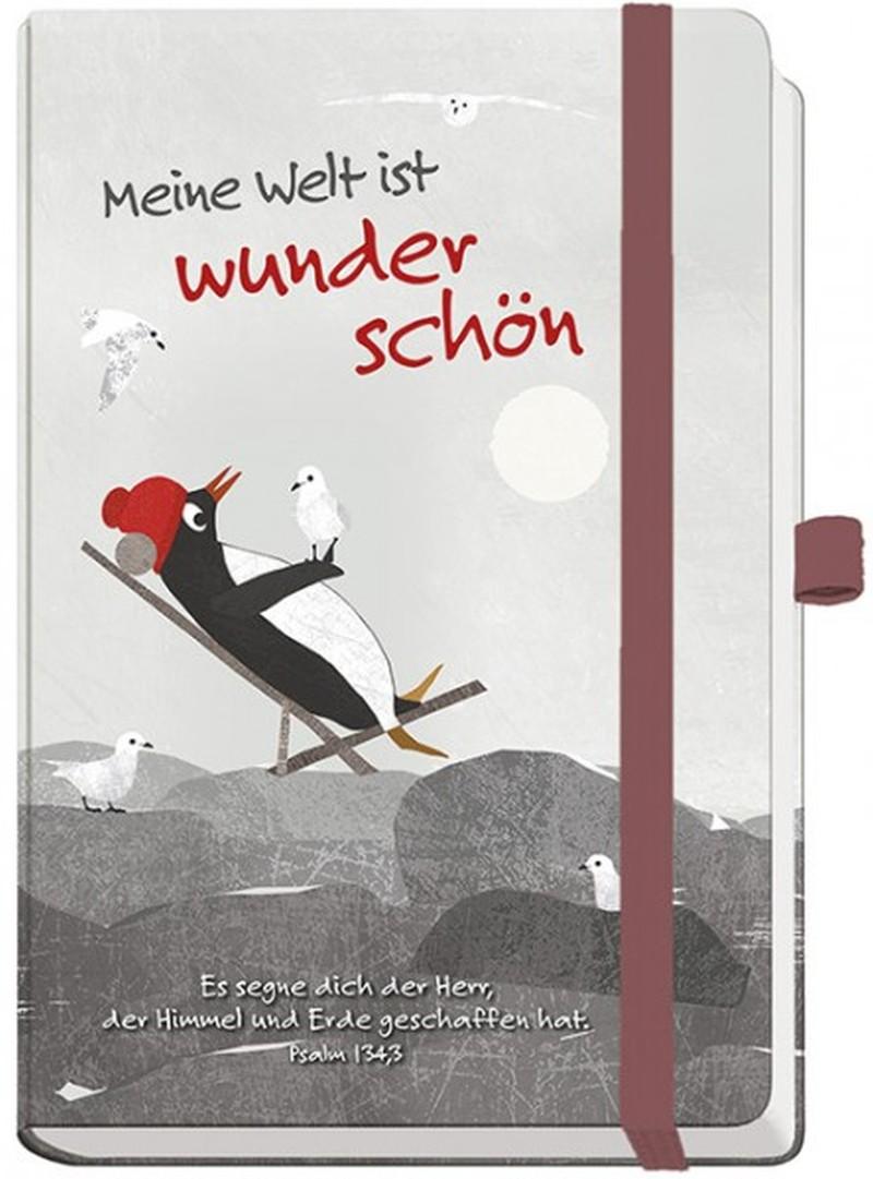 Notizbuch maxi - Meine Welt ist wunderschön