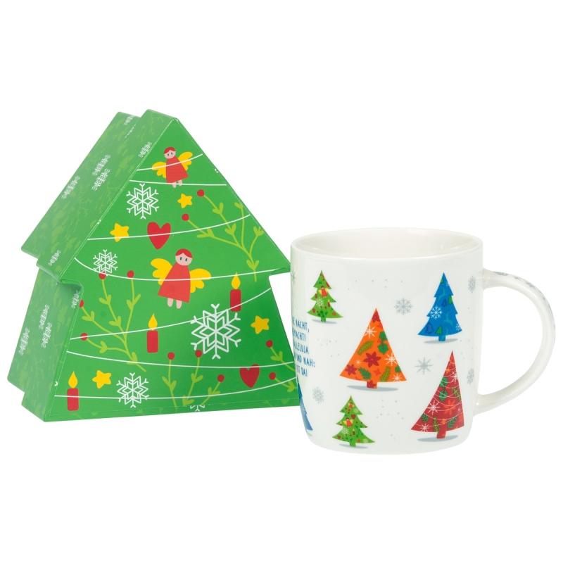 """Weihnachtstasse """"Tannenbäume"""""""