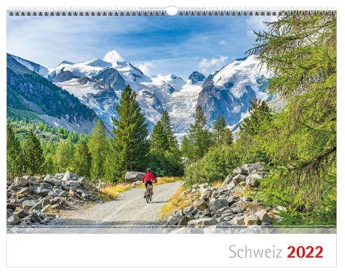 Schweizer Bergkalender 2022 - Englisch