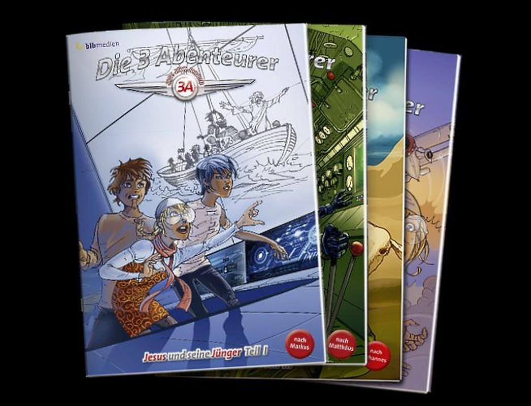 Die drei Abenteurer NT - Paket