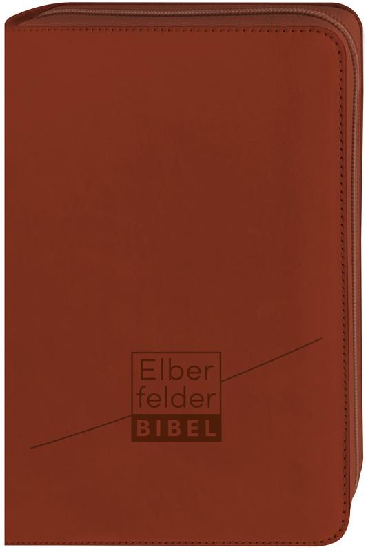 Elberfelder Bibel - Taschenausgabe, ital. Kunstleder mit Reißverschluss